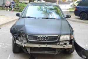 Édesapja autójával okozott balesetet egy fiatal Tatabányán