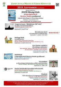 A József Attila Megyei és Városi Könyvtár programja Tatabányán