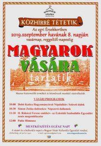 Magyarok Vására az Érsekkertben