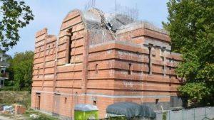 Folytatódik a görögkatolikus templom építése