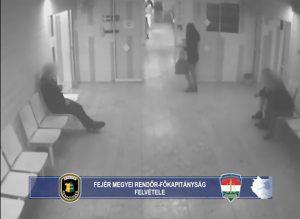 A székesfehérvári kórházból lopott, keresik – Videóval