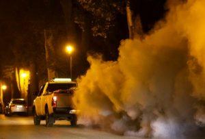 A BTG földi, kémiai szúnyogirtást végez