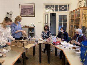A Budaörsi Kolping Család is segített a Hungary Helps programban